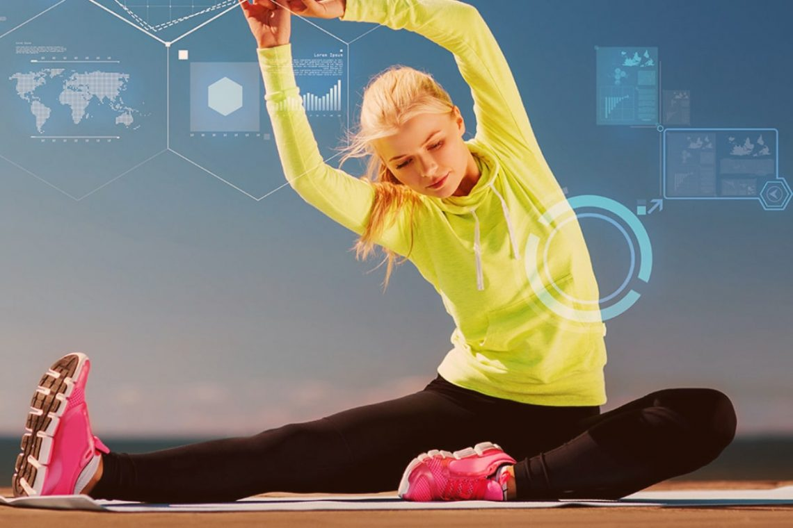 why technology improves fitness